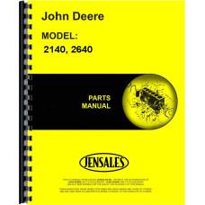 John Deere 2140 Tractor Parts Manual