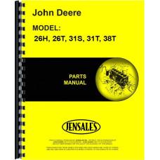 John Deere 31S Lawn Sweeper Parts Manual