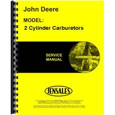 John Deere 2 Cylinder Carburetors Service Manual (All)