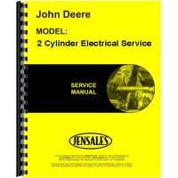 John Deere 2 Cylinder Electrical Service Service Manual
