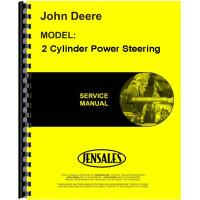 John Deere 2 Cylinder Power Steering Service Manual (Power Steering)