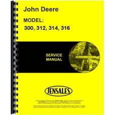John Deere Lawn & Garden Tractor Service Manual (JD-S-SM2104)