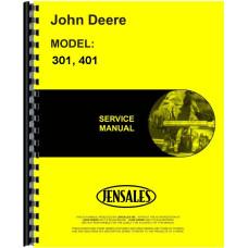 John Deere 401 Industrial Tractor Service Manual