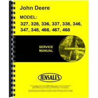 John Deere 337 Square Baler Service Manual