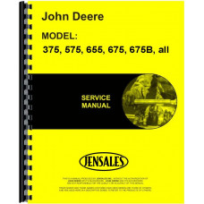 John Deere 675 Engine Service Manual (All SN#)