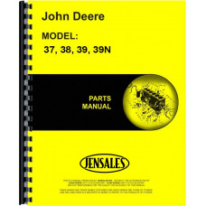 John Deere 39 Mower Parts Manual