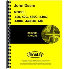 John Deere 40C Crawler Service Manual (1953-1955)