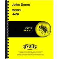 John Deere 4400 Combine Parts Manual (includes both volumes)