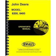 John Deere 5400 Forage Harvester Operators Manual