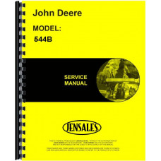 John Deere 544B Wheel Loader Service Manual (includes both volumes)