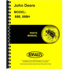 John Deere 555H Plow Parts Manual (Three and Four-Bottom Drawn Moldboard Plow)