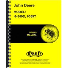 John Deere 6359T Engine Parts Manual (OEM Engine & Accessories)