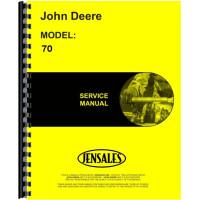 John Deere 70 Tractor Service Manual (Diesel and GP)