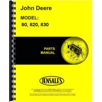 John Deere 830-I Tractor Parts Manual
