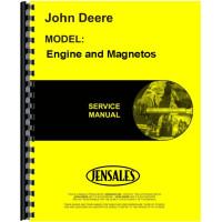 John Deere Engine and Magnetos Service Manual