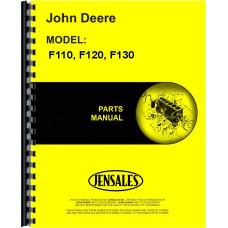John Deere F110 Plow Parts Manual (Integral, Moldboard, 2-5 Bottom)
