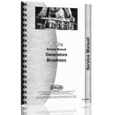 Kato Brushless Generator Service Manual