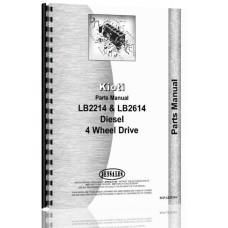 Kioti LB2214 Tractor Parts Manual