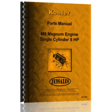 Kohler M8 Lawn & Garden Tractor Engine Parts Manual