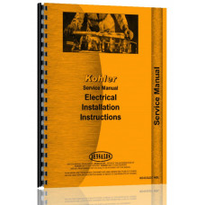 Kohler Electric Plants Installation Instructions Service Manual (Installation)