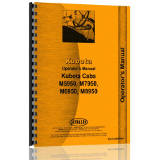 Kubota M8950DT Tractor Cab Only Operators Manual (4WD)