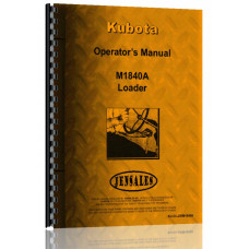 Kubota M1840A Loader Attachment for M5950DT Tractor Operators Manual