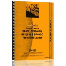 Kubota BF400 Loader Attachment for L235F, L235DT, L275F, L275DT Tractor Operators Manual