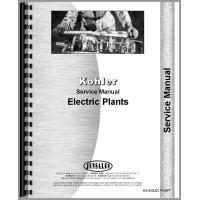 Kohler 500W-115KW Electric Plant Service Manual