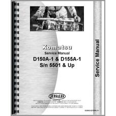 Komatsu D150A-1 Crawler Service Manual (SN# 5501 and Up)