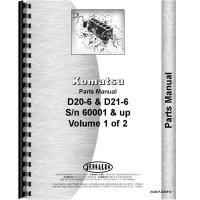 Komatsu D21P-6 Crawler Parts Manual (SN# 60001 and Up)