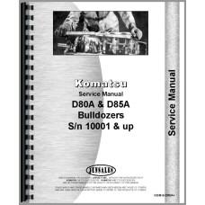Komatsu D80A Crawler Service Manual (SN# 10001 and Up)