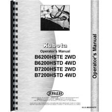 Kubota B6200HST-D Tractor Operators Manual