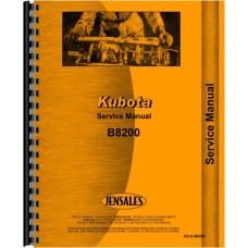 Kubota B8200 Tractor Service Manual