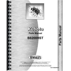 Kubota B8200HST Tractor Parts Manual
