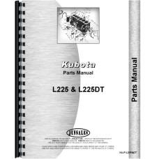 Kubota Tractor Parts Manual (KU-P-L225&DT)