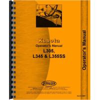 Kubota L345DT Tractor Operators Manual
