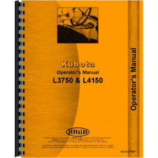 Kubota L4150 Tractor Operators Manual