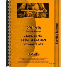 Kubota L3750 Tractor Service Manual
