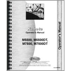 Kubota M5500 Tractor Operators Manual