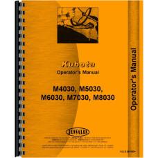 Kubota M5030 Tractor Operators Manual