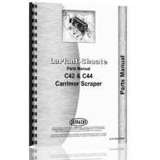 International Harvester TD9 Crawler Laplant-Choate Scraper Attachment Parts Manual