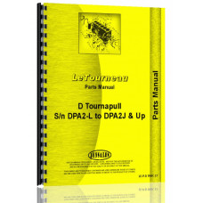 Le Tourneau D Tournapull Tractor Parts Manual (SN# DPF2-L, DPA2-J and Up SUFFIX)