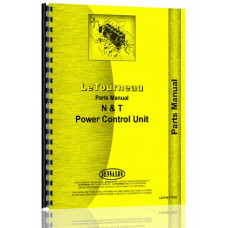 Le Tourneau N Power Control Unit Parts Manual