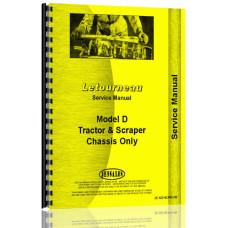 Le Tourneau D Tractor & Scraper   Service Manual