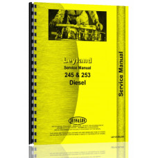 Leyland 245, 253 Tractor Service Manual