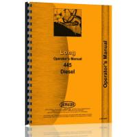 Long 445 Tractor Operators Manual