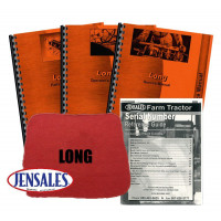 Long 360 Deluxe Tractor Manual Kit