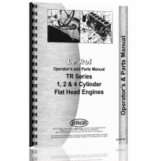 Leroi TR Series Engine Operators & Parts Manual