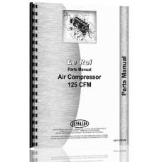 Leroi 125 Tract Air Tractor & Air Compressor Parts Manual