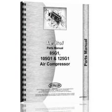 Leroi 85G1, 105G1, 125G1 Air Compressor Parts Manual